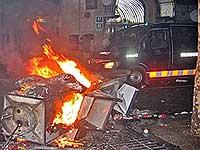 disturbios barcelona