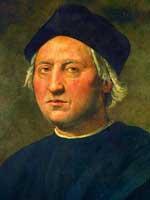 Cuadro de Crist�bal Col�n del pintor italiano del Renacimiento Ghirlandaio. (Efe)