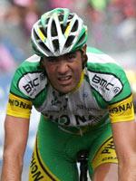 El ciclista español José Enrique Gutiérrez (Phonak)