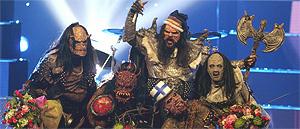 Los finlandeses Lordi ganan Eurovisión 2006
