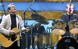 Los Eagles en un concierto de su gira 'Farewell I'