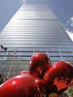 Hoy se ha inaugurado el primer edificio reconstruido de la 'zona cero' de Nueva York. (Reuters)