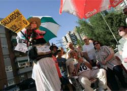 Rebelión contra los parquímetros (Foto: Jorge París)