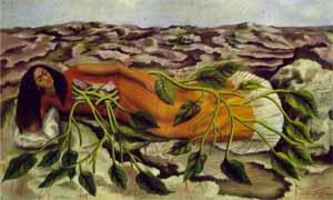 La obra raíces de Kahlo ha batido récords. (Sothsby's)