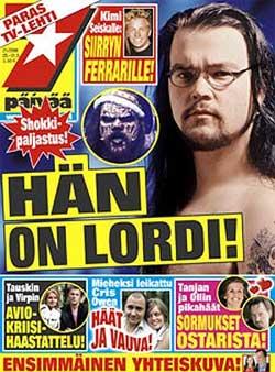Cantante de Lordi