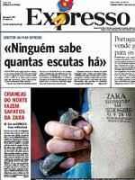 El semanario portugués ha denunciado que un subcontrata de Zara utiliza niños. (Expresso)