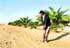Golf entre dunas en Namibia