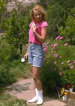 """Miss Intelijente"" de jardinera.."