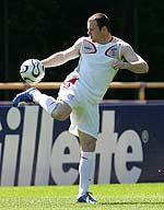 Wayne Rooney durante el entrenamiento. (Reuters)