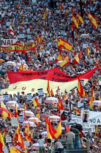 Manifestación AVT