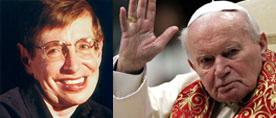 Hawking-Juan Pablo II
