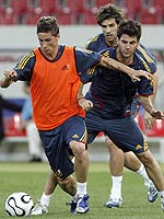 Torres, Cesc y Albelda