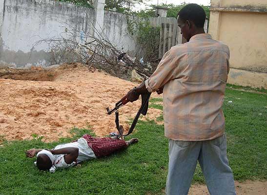 ... ejecución fue ordenada por un tribunal islámico de Somalia aplicando