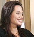 Angelina Jolie y Anderson Cooper