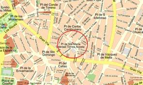 Apuñalada una mujer en el centro de Madrid