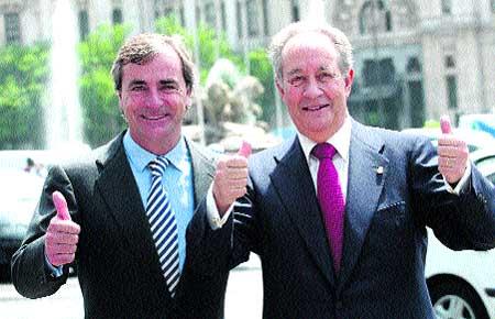 Carlos Sainz y Villar Mir componen la candidatura más perjudicada por la decisión judicial.