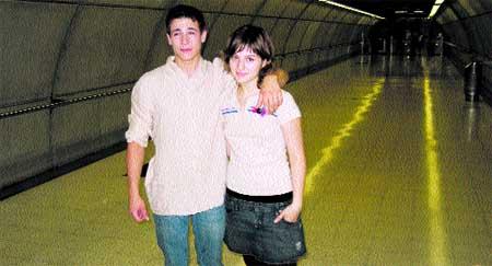 El Bola y María Valverde son estos días los 'Ladrones' del Metro de Bilbao