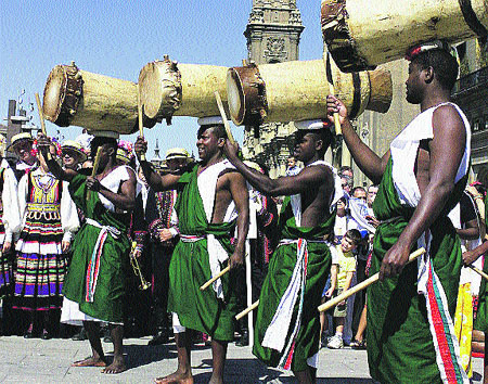 El estruendo de los pastores de Burundi