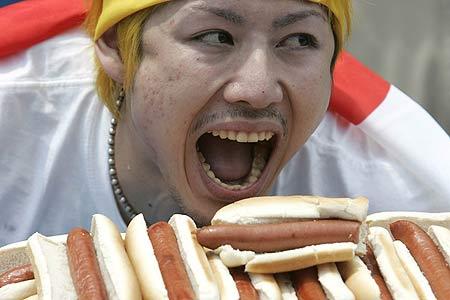 Takeru Kobayashi, el ganador del certamen