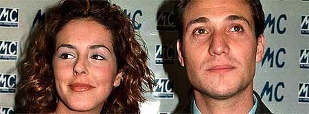 Rocío Carrasco y Antonio David cuando estaban casados