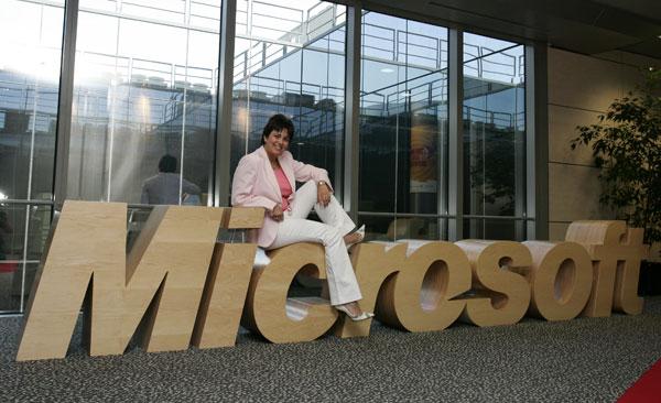 Rosa García, Consejera Delegada de Microsoft Ibérica