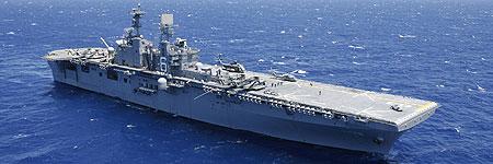 El buque estadounidense USS, capaz de destruir misiles, ha llegado hoy a Japón. (Hugh Gentry / REUTERS)