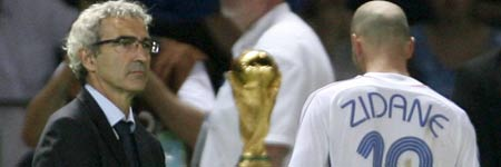 Domenech y Zidane