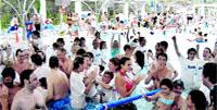 Mig miler de piscines en ajut de l'esclerosi