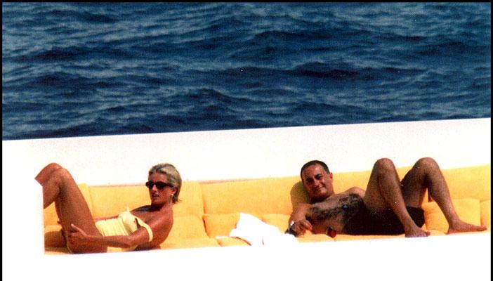 Diana y Dodi Al Fayed, días antes de su muerte