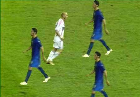 Juego Cabezazo Zidane