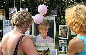 Octavo aniversario de la muerte de Lady DI