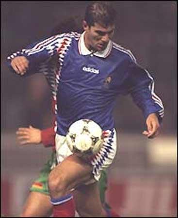 Zidane un grande del fútbol.