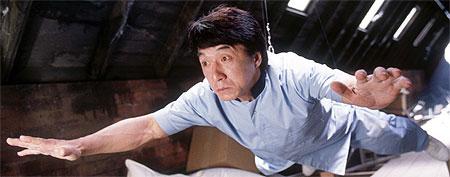 Jackie Chan en una de sus películas