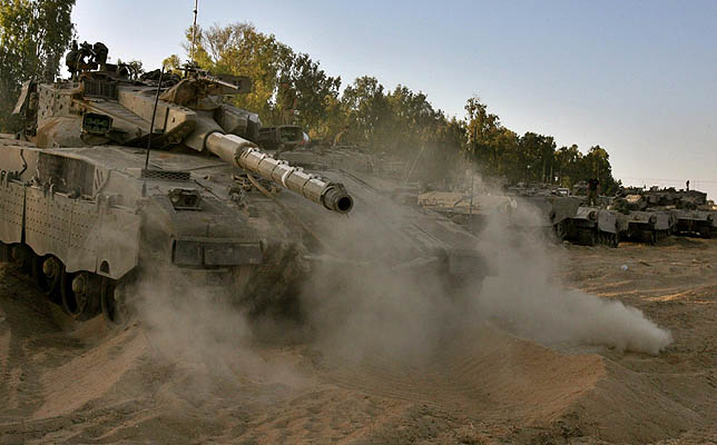 Hizbulá asegura que tiene en su poder a dos soldados israelíes, el mismo motivo por el que invadió Gaza (Gil Cohen Magen / REUTERS)