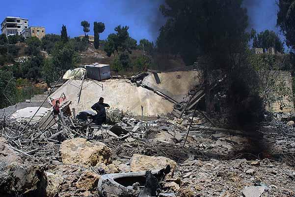 Líbano casa destruida