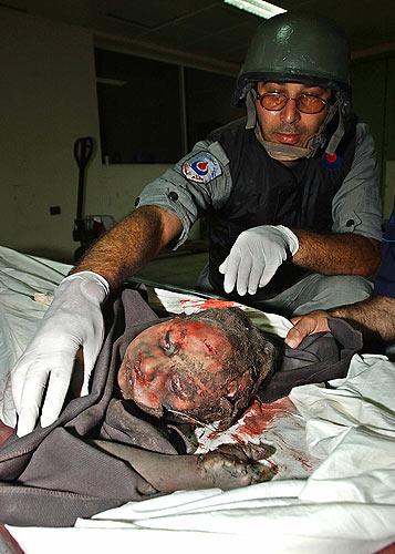 Líbano niña  muerta