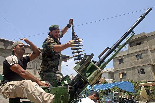 Líbano guerrilla palestina