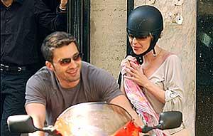 Kylie Minogue y Olivier Martínez