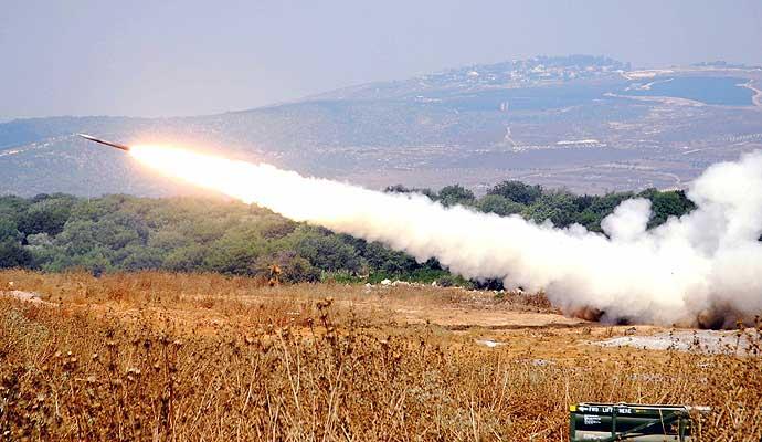 170706 Misil lanzado por Israel hacia líbano