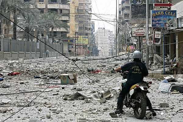 180706 Líbano destruido por los bombardeos