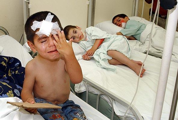 190706   Niños heridos en el Líbano