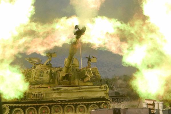 210706 Proyectil israelí contra Líbano