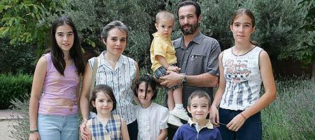 Las familias españolas son cada vez más altas.