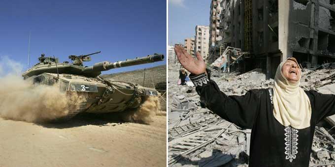 Israel aumenta su ofensiva por tierra