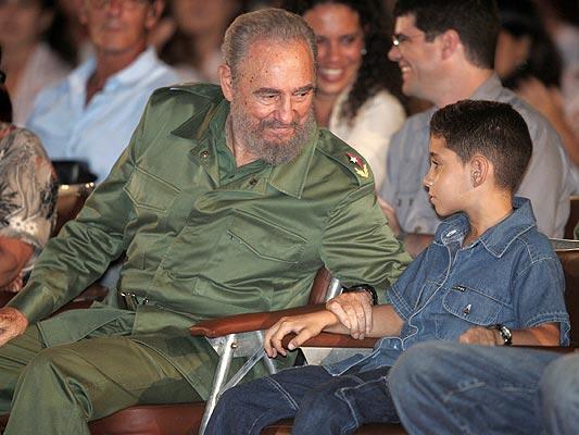 Fidel, historia en fotos