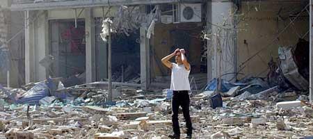 Bombardeos israelíes