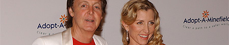 Heather Mills y Paul McCartney