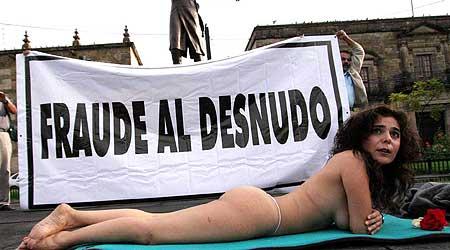 Cecilia Márquez, portavoz de la coalición Por el Bien de Todos, quiere demostrar que el recuento de votos
