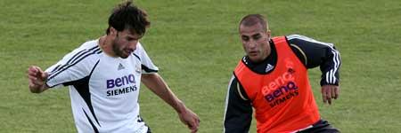 Cannavaro y Van Nistelrooy
