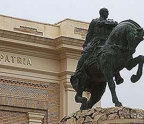 La estatua ha permanecido en la Academia Militar durante décadas